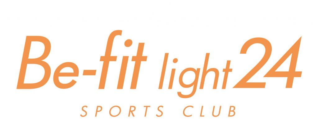この画像には alt 属性が指定されておらず、ファイル名は be-fit_light24_logo1-e1559797670569-1024x441.jpg です